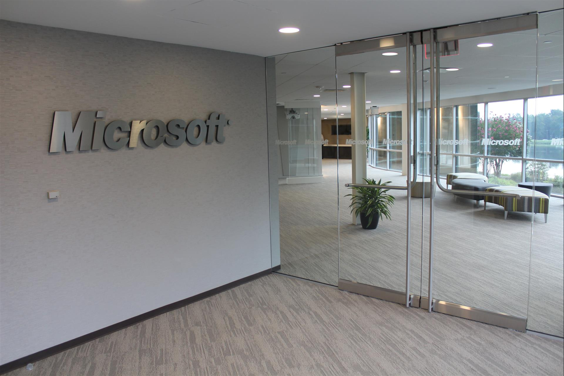 gallery photo : Microsoft Office Interior Buildout